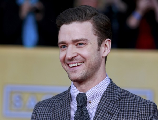 Singer Justin Timberlake arrives at the 19th annual Screen Actors Guild Awards in Los Angeles, Calif., Jan. 27, 2013.