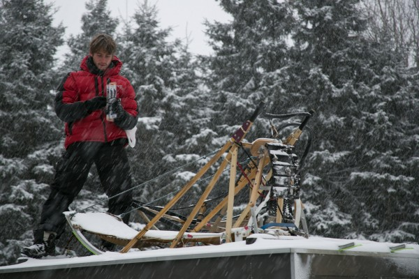 Not everyone can be a musher. Fewer still are those who combine dog sledding and Ninja training like Jean Bollweg of South Africa.