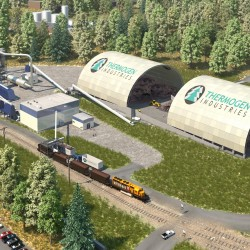 Millinocket torrefied wood facility gets final DEP permit