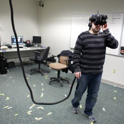 UMaine students research a virtual world