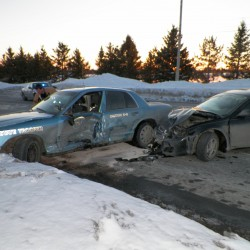 Trooper airlifted to EMMC following crash in Presque Isle