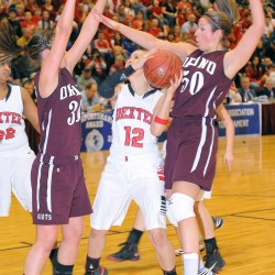 Undefeated Calais holds off Orono for Eastern Maine 'C' girls title