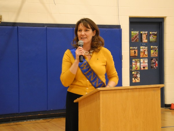 Kimberly Buckheit, principal of Troy Howard Middle School, was named Maine's Middle Level Principal of the Year by the Maine Principals' Association on Tuesday.