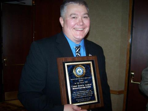 Houlton Police Chief Butch Asselin, who has spent nearly four decades serving and protecting the public during a decorated law enforcement career, earned another accolade earlier this month when he received the chief of the year award by the Maine Chiefs of Police Association. The award was given at a ceremony this month in South Portland.