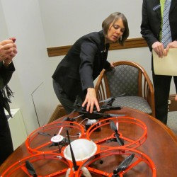 Lawmakers order more study of drones before taking action on bill