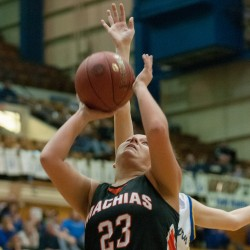 Machias girls earn first tourney win since 1995; Washburn girls cruise