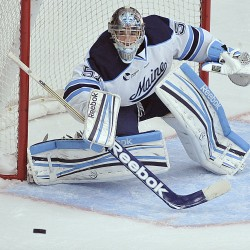 Former Kimball Union Academy goaltending partners square off when Maine visits UMass