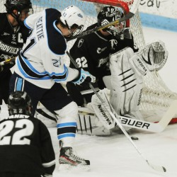 Beattie provides spark in return to UMaine hockey lineup
