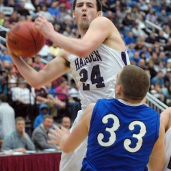 Gilpin, Norris help unbeaten Hampden boys basketball team rout Lawrence