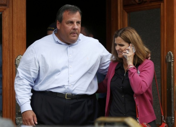 Governor of New Jersey Chris Christie and his wife Mary Pat Christie attend a conference in Sun Valley, Idaho, in this July 13, 2012 file photo. Christie responded angrily on Wednesday to a former White House physician's comment that he could die in office if he does not lose weight, calling the doctor a &quothack&quot for offering advice without examining him.