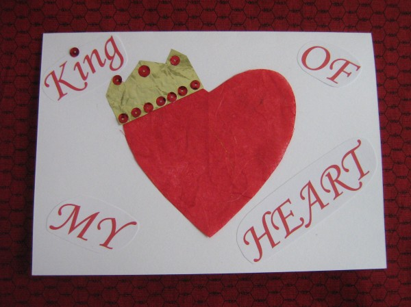 Nothing says love like a handmade Valentine.