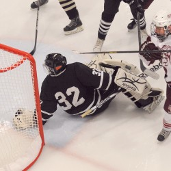 Bangor High hockey coach 'shocked' by 12-goal game