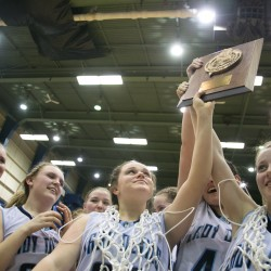 Gillespie powers Calais girls past Houlton, into EM Class C title game