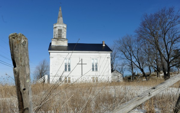 The East Bangor Congregational Church was built in 1849 on Pushaw Road (at Church Road) and is the oldest church structure left standing in Bangor.