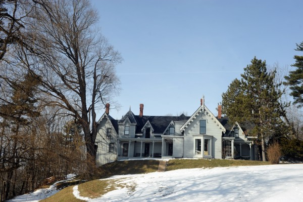 The John L. Godfrey house, better known as &quotCliff Cottage&quot on Kenduskeag Avenue was built in 1847 in the Gothic style. &quotWe really see ourselves as stewards rather than owners of the house,&quot said Ellen Tobin (with Jim Tobin) of staying true to the architecture of the house when remodeling.