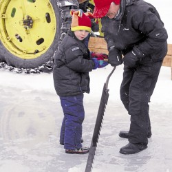Old-time ice harvest planned for Saturday in Orrington