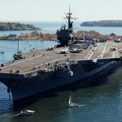 Effort to bring aircraft carrier to Maine snags