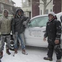 Snow removal professionals raking it in