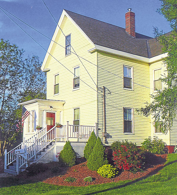 "After buying a house at 192 Fourteenth St. in Bangor, Renee Perron discovered that a previous owner had written the name ""Warner"" on a second-floor fireplace mantel. While investigating the mystery, Perron learned that her house had been built for Annie Warner, a black Bangor resident whose father, Samuel Guess, had served with the United States Army during the Civil War. He had escaped slavery in Louisiana before encountering soldiers from a Maine regiment."