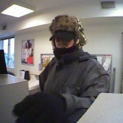 Police seek male suspect in Bangor Savings Bank robbery in Orono