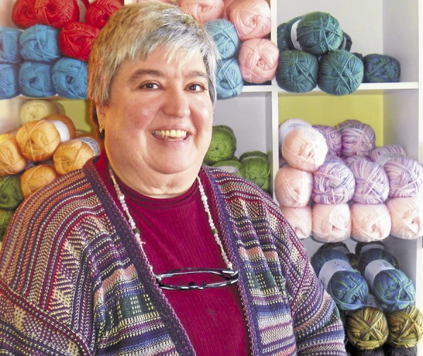 Robin Case, owner of The Yarn Barn, 849 stillwater Ave. in Bangor opened her store in October 2012.