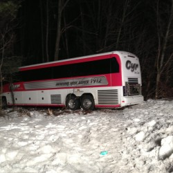 Driver, coach among injured after UMaine women's basketball team's bus crashes