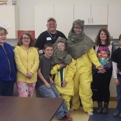 Photo courtesy of Youthlinks AmeriCorps Program Manager Sarah Woodman