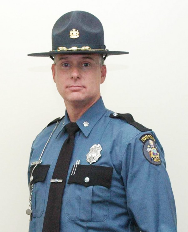 Col. Robert A. Williams, chief of Maine State Police.