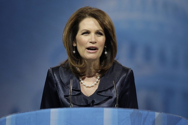 U.S. Rep. Michele Bachmann speaks to the Conservative Political Action Conference in National Harbor, Md., March 16, 2013.