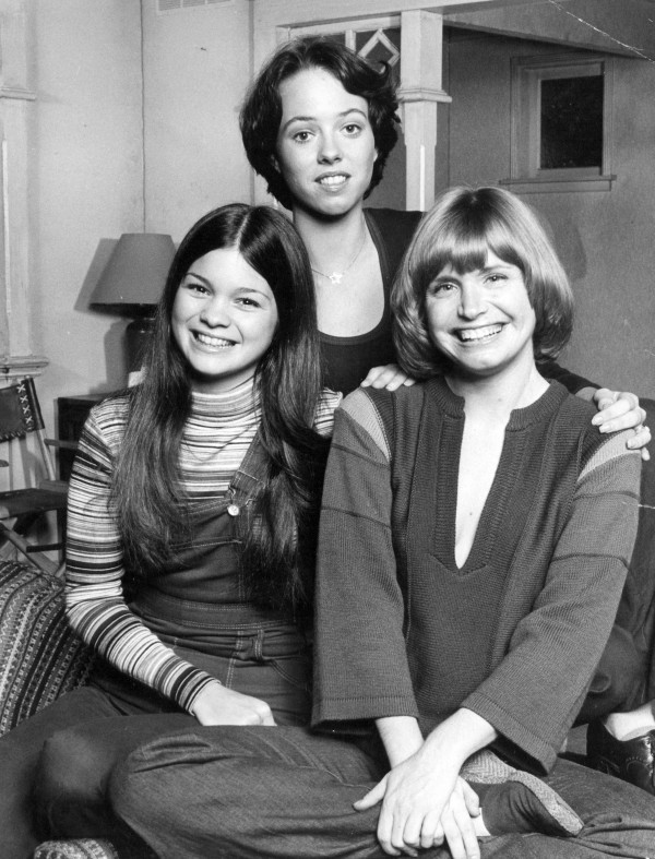&quotOne Day At A Time&quot actresses Valerie Bertinelli, McKenzie Phillips and Bonnie Franklin are seen in this file photo.