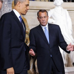 Boehner: Obama needs less charm, more courage