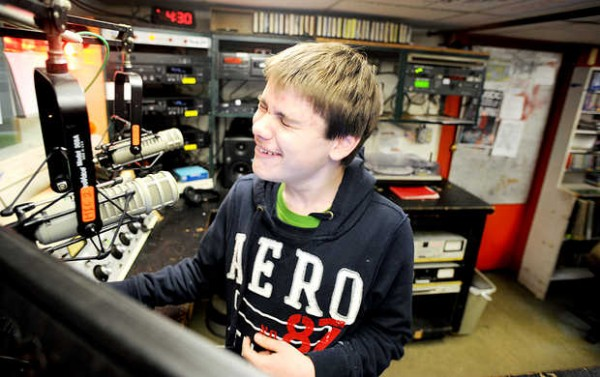 &quotI'm an audioholic,&quot said Hunter Wilbur, a 13-year-old disc jockey at 91.5 WRBC, Bates College Radio