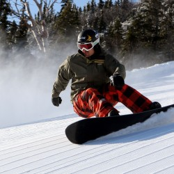 Wescott top qualifier for Sugarloaf Banked Slalom snowboarding event