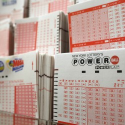 Millinocket store clerk claims her $50,000 lottery win