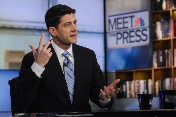 U.S. Rep. Paul Ryan, R-Wis., the Republican party's 2012 vice presidential nominee, talks about federal budget issues in January.