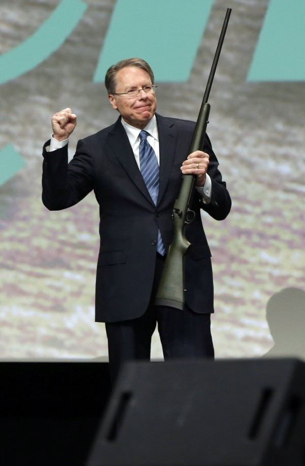 Wayne LaPierre, executive vice president of the National Rifle Association, in Salt Lake City, Utah, in February 2013.
