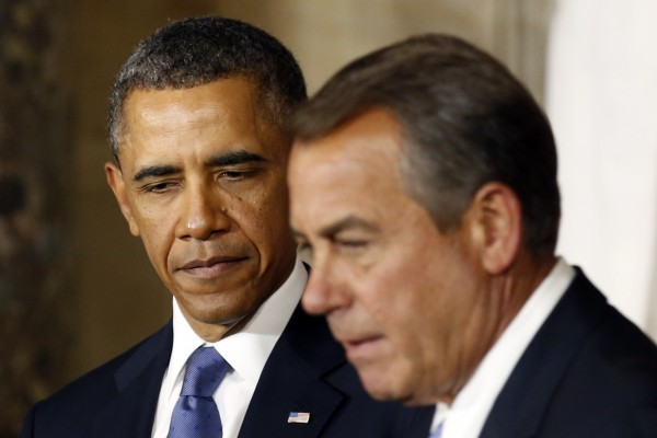 President Barack Obama and Speaker of the House John Boehner: Budget policies are closer than you might think.