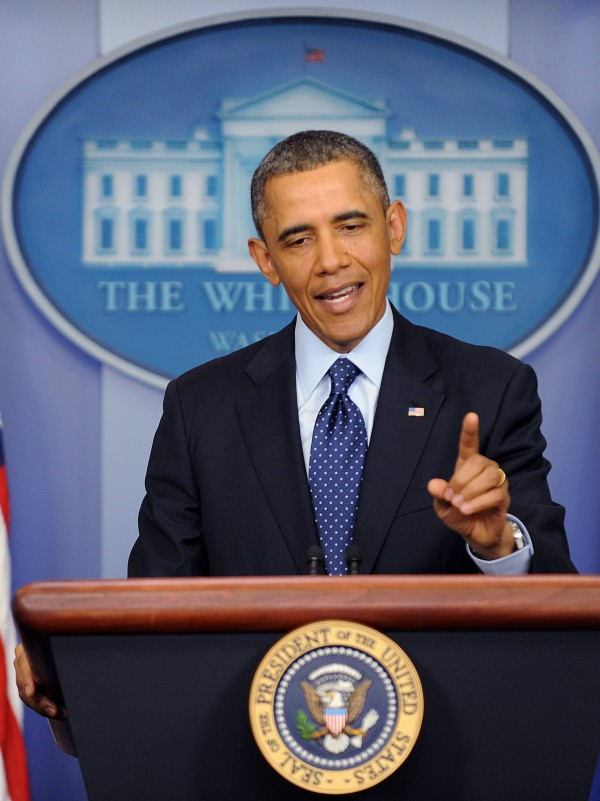 President Barack Obama talks about automatic federal spending cuts that took effect March 1.