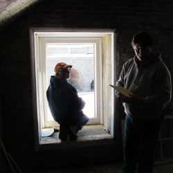 Restoration of powder magazine begins at Fort Knox