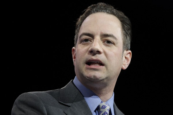 Republican National Committee Chairman Reince Priebus speaks at the 2013 Conservative Political Action Conference.