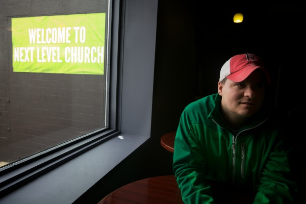Location Pastor Allen Robbins explains his role at the Next Level Church in Portland. &quotOne of the reasons we go with video on Sundays is that it frees me up to spend more time to focus on people,&quot he said.