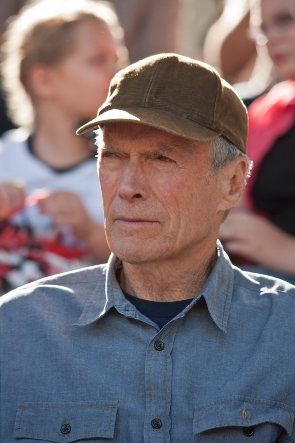 Clint Eastwood in 2012.