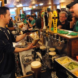 St. Patrick's Day beer consumption starts on time