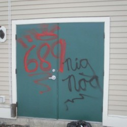 Ellsworth police nab 'blood diamond' graffiti vandal