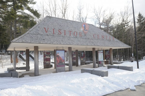 Visitors to Acadia National Park will have to wait an extra month before using the visitors center, which will be closed until mid-May due to cuts in funding brought on by the sequestration.