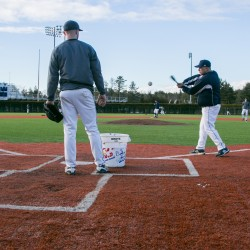 Lawrence, Bazdanes set gritty tone on mound for UMaine baseball team