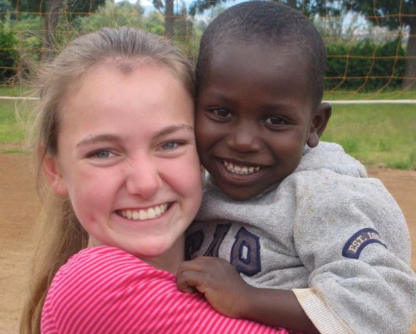 Holly Perkins of North Yarmouth, a senior at Merriconeag Waldorf High School in New Gloucester, will return to an orphanage in Tanzania later this month to teach ballet to the children there.