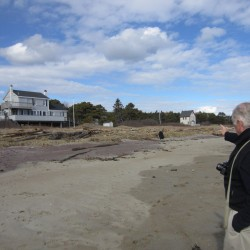 At Popham, 'there is no beach at high water' as erosion worsens