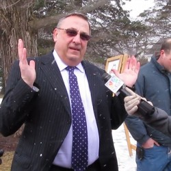 LePage again promises to veto all bills until hospital debt repaid