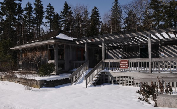 The Acadia National Park Thompson Island information area remains closed for the winter as of Friday.